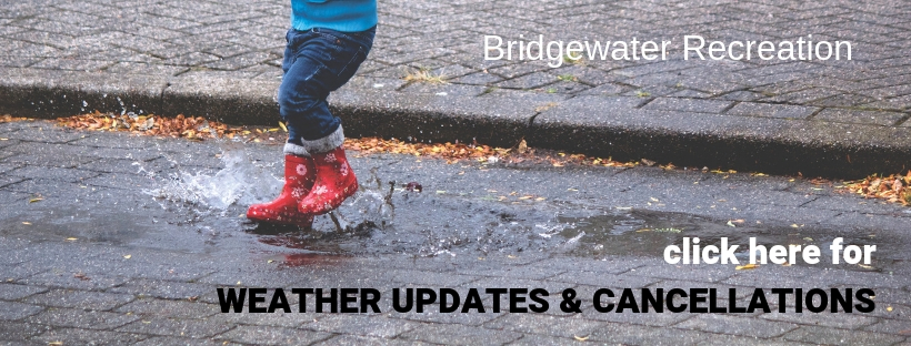 Recreation Weather Updates & Cancellations